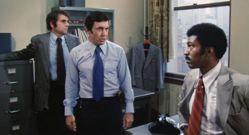 Looks like every police station in every 1970s cop movie, doesn't it? - GENERAL FILM CORPORATION / ROLLING THUNDER PICTURES