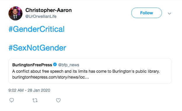 A January 2020 tweet - SCREENSHOT/INTERNET ARCHIVE