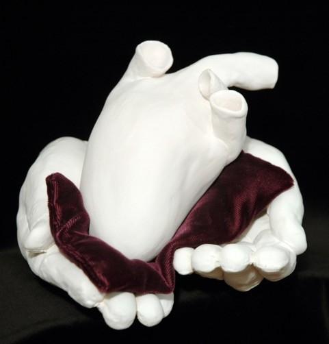"""Cherished Heart,"" sculpture by Diane Gabriel - DIANE GABRIEL"