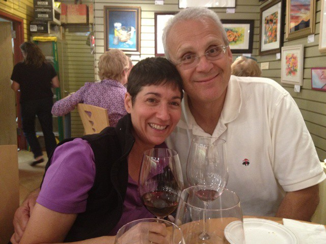 Renee Reiner and Mike DeSanto - COURTESY OF PHOENIX BOOKS
