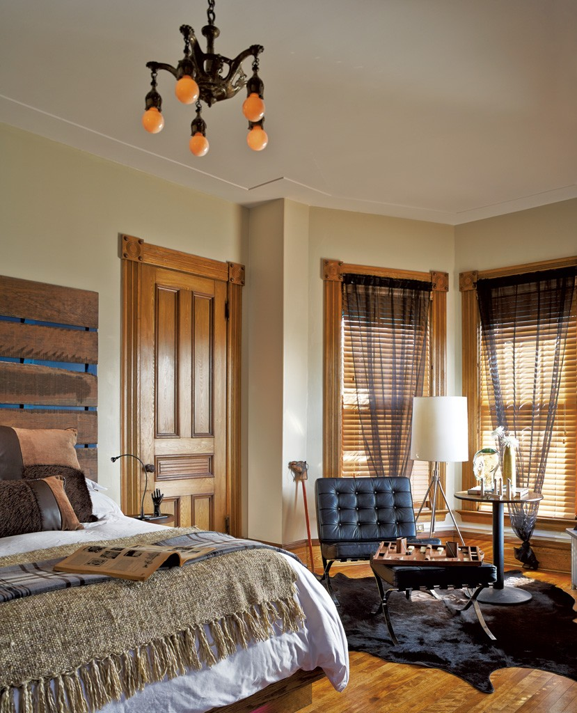 a burlington b b artfully mixes old and new interior design