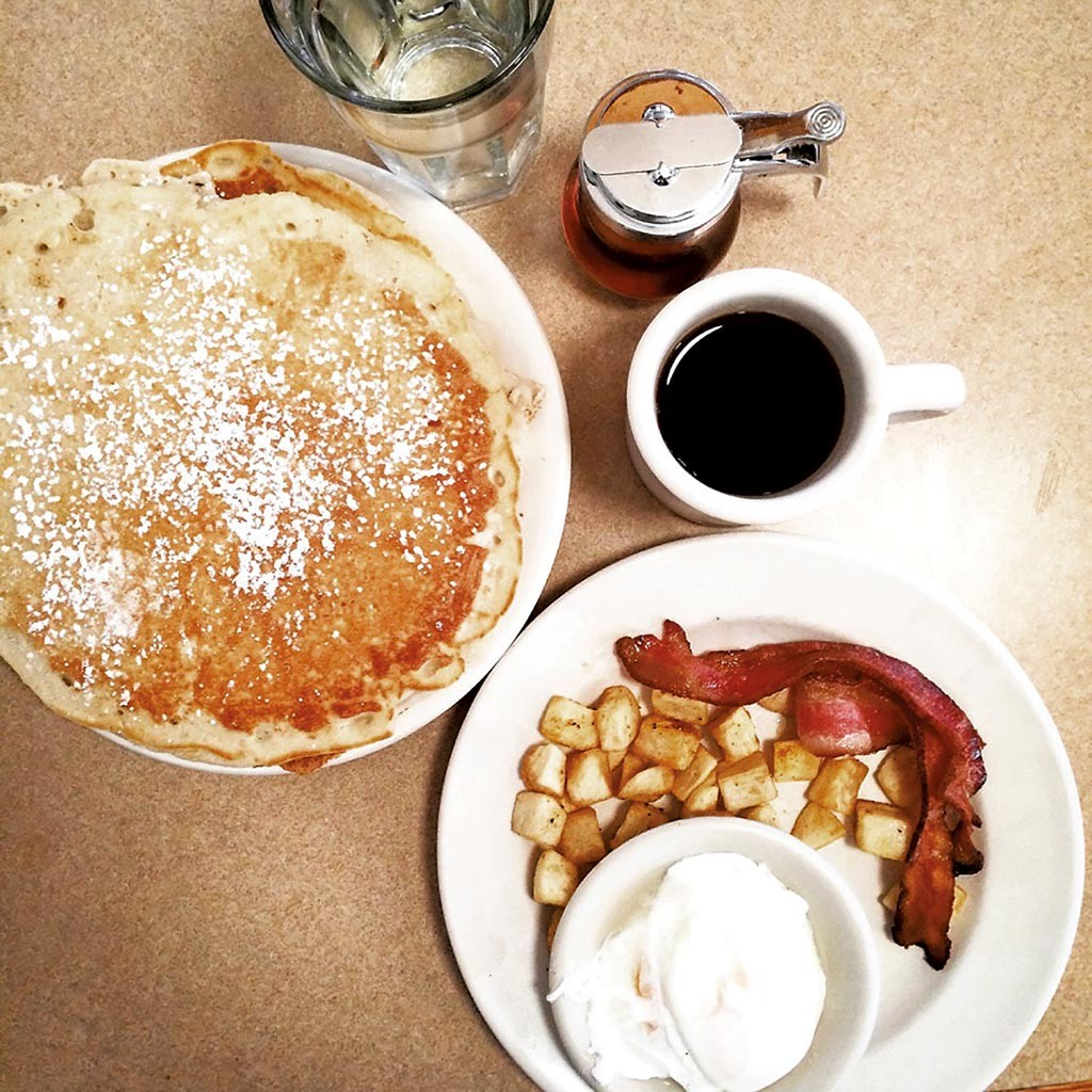 Click To Enlarge Breakfast At The Diner Courtesy Of Rocket