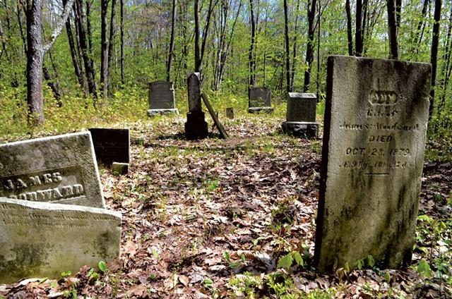 Johnson Cemetery - KEN PICARD
