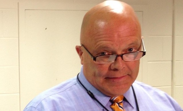 Burlington School Board chair Mark Porter - MOLLY WALSH