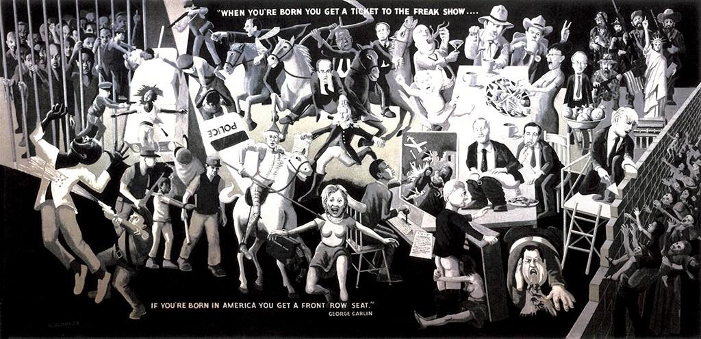 """The Freak Show"" by Al Salzman"