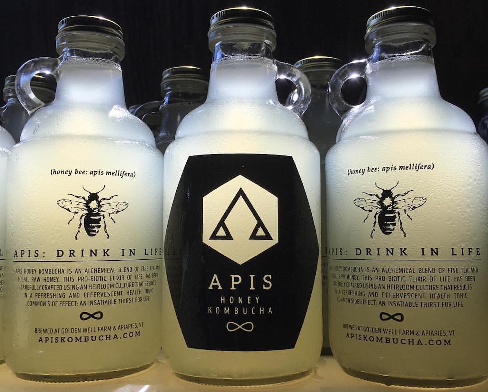 Drink Up: Raw Honey Kombucha From Golden Well Farm and Apiaries
