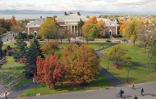 The University of Vermont - COURTESY PHOTO: SALLY MCCAY