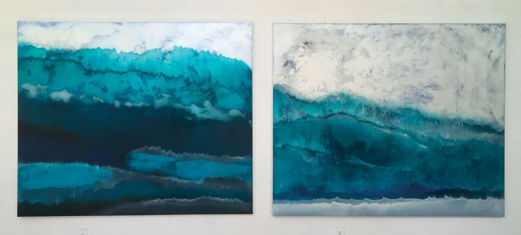 "Charlie Bluett, ""Winter Layers"" and ""Winter Long Trail"""