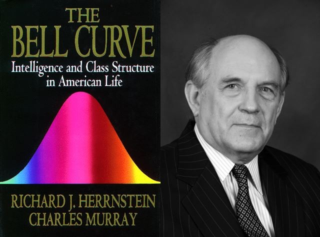 Charles Murray and his controversial book - COURTESY