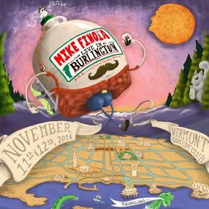 Mike Finoia, 'Live in Burlington' - ALBUM ART BY BRUNO TRACY