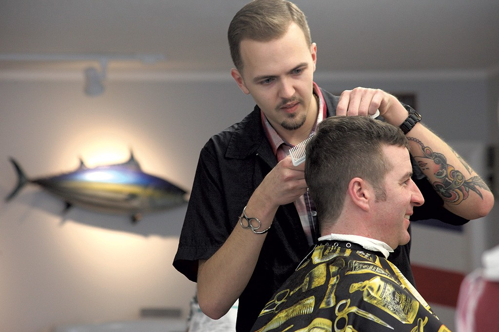 Find A Classic Shave And Haircut At Winooskis Old Soul Barbershop
