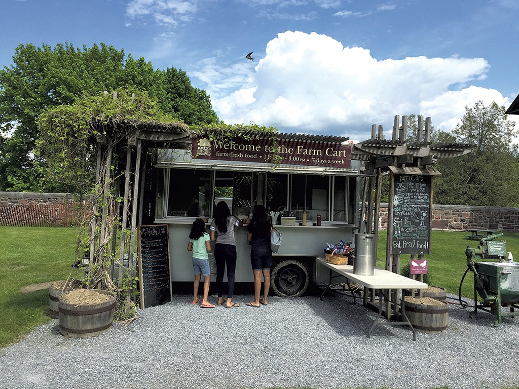Rooms: A Grilled Cheese And A Great View At Shelburne Farms