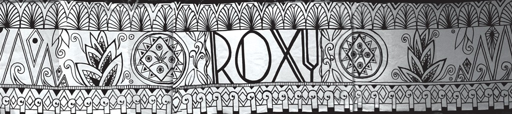 Sivan Saati's mural concept for the Roxy - COURTESY OF SIVAN SAATI