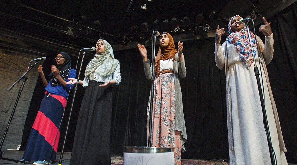 Muslim Girls Making Change - COURTESY OF MUSLIM GIRLS MAKING CHANGE
