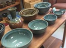 Claude Lehman Pottery Holiday Sale