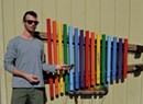 Guerilla Artist Donates Oversize Xylophones to Burlington School