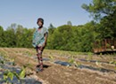 This Burlington Farmer's Crop Shares Her African Roots