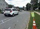 Despite Bumps, Winooski Traffic Lane Pilot Rolls Forward