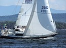A Rookie Sailor Crews the Diamond Island Regatta