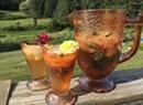 Farmers Market Kitchen: Melon-Marigold Cream Cooler