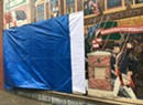 Vandal Defaces Controversial Burlington Parade Mural