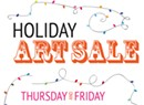 Second Annual Holiday Pop-Up Art Sale