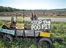 Manure Storage Wars: In Ferrisburgh, Flower Power Fights Big Dairy