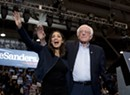 AOC and the Strokes Rally for Sanders in New Hampshire