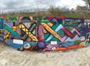 A Mural Not Long for This World Pops Up in Burlington