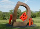 David Stromeyer Makes Boulder Moves at Cold Hollow Sculpture Park