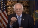 In Convention Speech From Burlington, Sanders Makes the Case for Biden