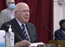 Leahy Has No Virus Symptoms; Wants Confirmation Hearings Delayed