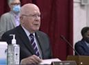 Leahy Has No Virus Symptoms; Wants Confirmation Hearings Delayed