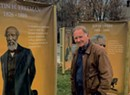 An Outdoor Art Installation Celebrates Famous People From Middlebury's Past