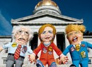 Vermont Company's Pet Toys Parody Presidential Candidates