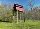 WTF: What's the Miniature Barn on Stilts at Fort Ethan Allen?