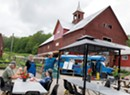 Dining Out at Lazy Breeze Farm's Burger Buggy in Waltham