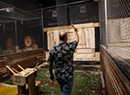 At Burly Axe Throwing, Patrons Bury the Hatchet for Fun