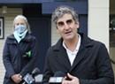 Burlington's Mayor Mulls a Citywide Mask Mandate