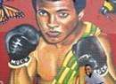Burlington's African Market Adds Muhammad Ali Mural