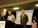 Gary Johnson, William Weld Make South Burlington Campaign Stop