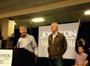 Gary Johnson, William Weld Make South Burlington Campaign Stop