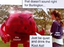 Artwork Mocks Burlington City Officials for 'Drinking the Kool-Aid'