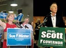 WCAX Poll Shows Scott Leading Minter 47 to 40 Percent