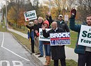 Scott, Brock Make Final Campaign Push in Chittenden County