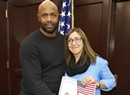The Day After Trump's Victory, a Woman Takes the Citizenship Oath