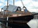 Sailor on Arctic Boat Moored in Burlington Harbor Calls it Quits