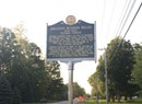 A Historical Roadside Marker in Randolph Goes Missing
