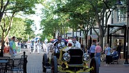 The Great Race Rolls Into Burlington With Vintage Cars