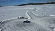 Stuck in Vermont: Lily Stilwell Competes in Gymkhana Ice Time Trials on Malletts Bay